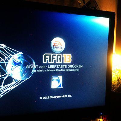 Fix noch ein paar Runden :) #FIFA13 FIFA13