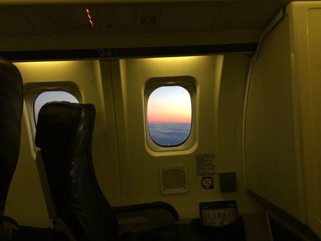 Hometime Flying Sunset Plane Traveling Window