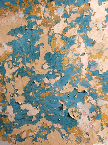 Backgrounds Textured  Full Frame Weathered Rough Blue Close-up Pattern Damaged Cracked Colored Background Built Structure Architecture No People Day