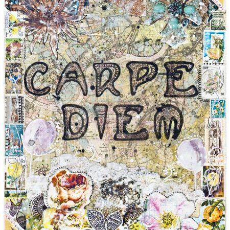 Carpe Diem Cute Poster