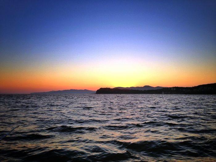 Sunset #sun #clouds #skylovers #sky #nature #beautifulinnature #naturalbeauty #photography #landscape Filyos Zonguldak