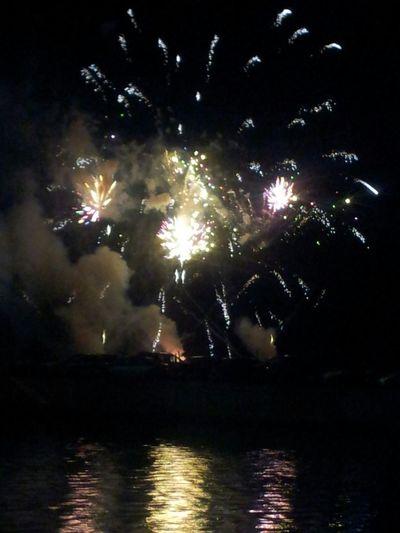 Fireworks Sky Night Nightphotography