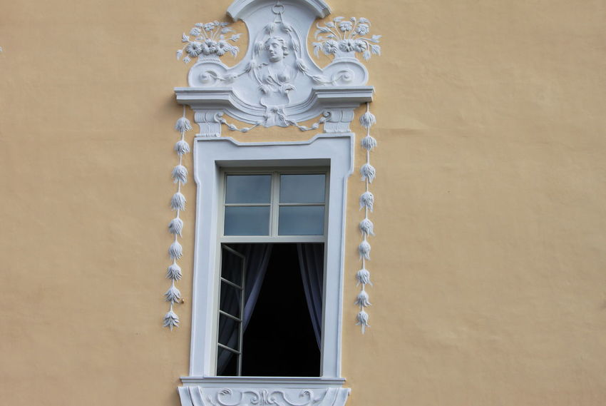 Slovenia Architecture Art And Craft Building Exterior Built Structure Day No People Outdoors Radovljica September 2018 Wall - Building Feature Window