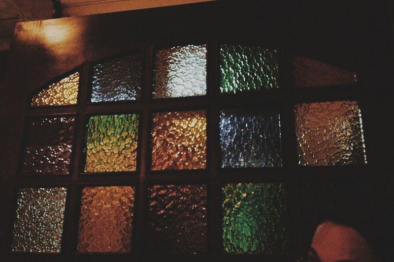 Vitrail Architectural Detail Colors