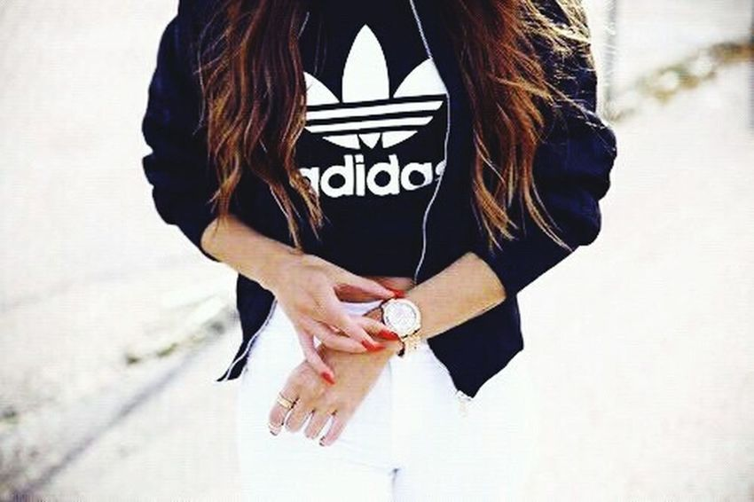 Adidas Branded Sunnyweather Walking Around
