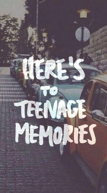 Teenage memories Teenager Post Memories
