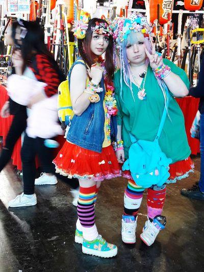 Japan Expo People Photography Anime Style Colorful Harajuku Style Harajuku Girls