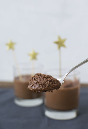 Vegan Mousse au chocolat Chocolate Dessert Food And Drink Mousse Au Chocolat Pudding Sugar Aquafaba Close-up Food Foodphotography Jar Sweet Vegan