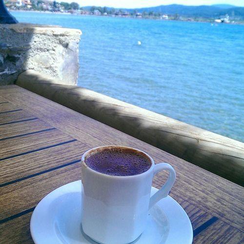 Seaside Turkishcoffee Sunandsea Relax❤️ Meditation Time 🌅🌊💦☕