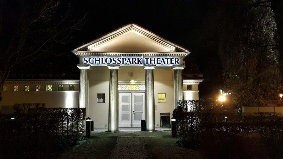 The Week On EyeEm Berlin Dickes_B Steglitz Cities At Night Schlosspark Theater St.Eglitz