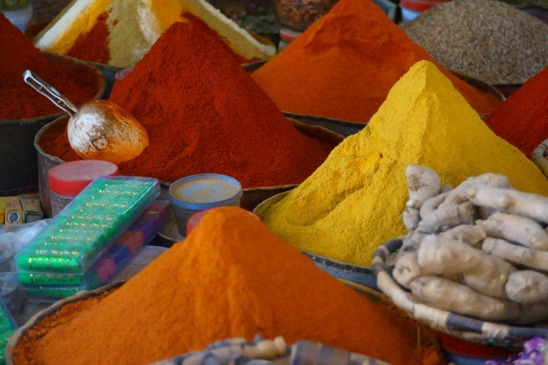 Colours in Marocco Marocco Colours Colours Of Nature Desert Landscape Marrakesh Orange Color Blue Red Yellow Brown Drugs Flowers