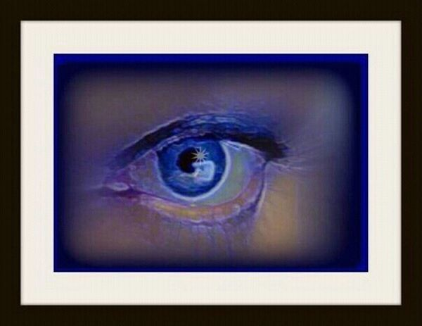 Eye Blue Photoart My Eye I See You Blue Eye Mirror Of The Soul