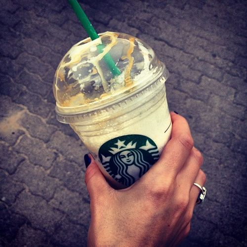 #starbucks #coffee #caramel #frappucino Coffee Starbucks Caramel Frappucino