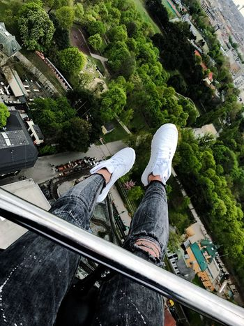 Tree Day Theme Park Viena, Austria Prater/Vienna Air Intheair View From Above View Fun White Shoes Shoeselfie Girl Roallercoasters Trees Trees And Sky Human Body Part Legsselfie Happiest Moment Happieness EyeEmNewHere Young Adult Moments Of Life Moments EyeEmNewHere Done That. Go Higher