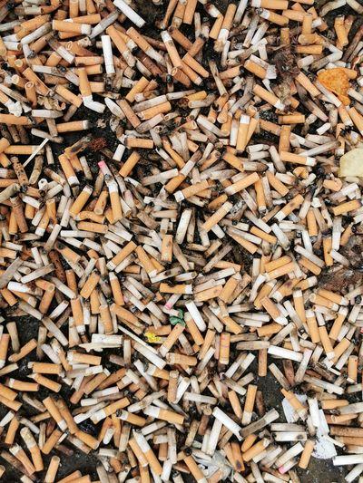 Full frame shot of cigarette