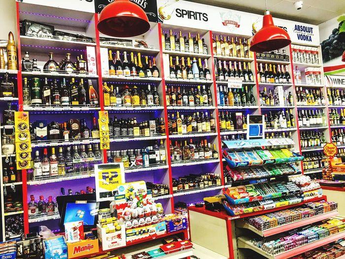 Full frame shot of multi colored store