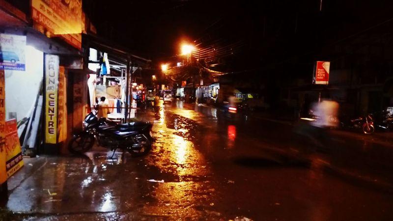 A Rainy Day Berhampore