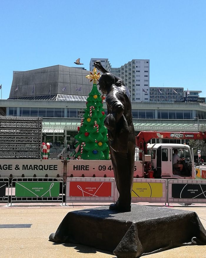 Christmas peace Outdoors Chance Encounters Sculpture In The City
