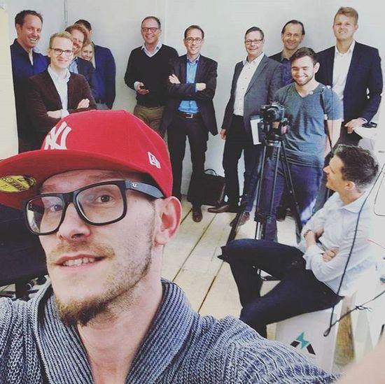 lets take a Selfie first @activatr SmilingFaces Happypitch Activatr Stuttgart Beschde