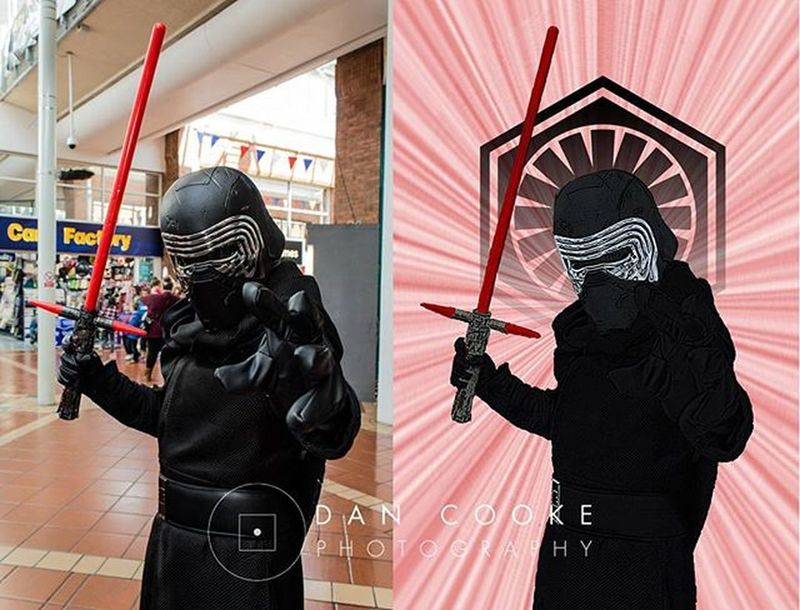 So I've been working on Comicify once again. I really love converting these images and I love the response the costumers and cosplayers give me when they see themselves converted to these images. Comicify Cosplayers Feeltheforce Starwars KyloRen Cosplay Cosplayer Cosplaying Costumer Costuming Costume