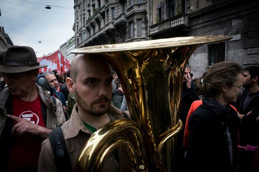 Trombone Streetphotography Ricoh Gr