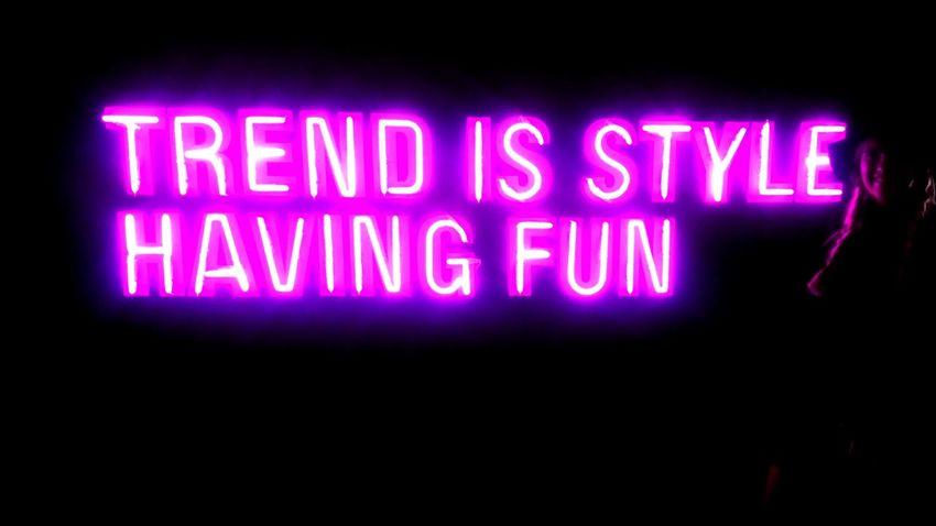 Neon Life Text Neon Illuminated Purple Night Technology Communication No People Electricity  Indoors  Close-up