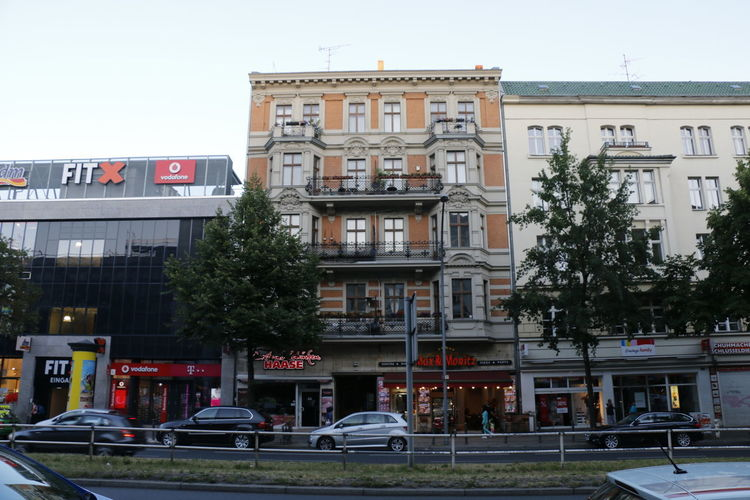 Berlin Historical Building Low Angle View Max Und Moritz Shops Streets Tree Architecture Backstein Balcony Building Building Exterior Built Structure Cat City Gesims Hauptstrasse Historic Old Street Stuck Urban Window