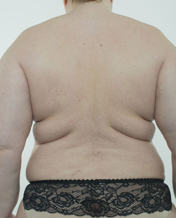 Woman making diet BBW* Diet Obesity Woman Abdomen Bra Cellulite Centimeter Fat Female Food Health Human Large Measure Overweight Pretty Rounding Underwears Waists Weight