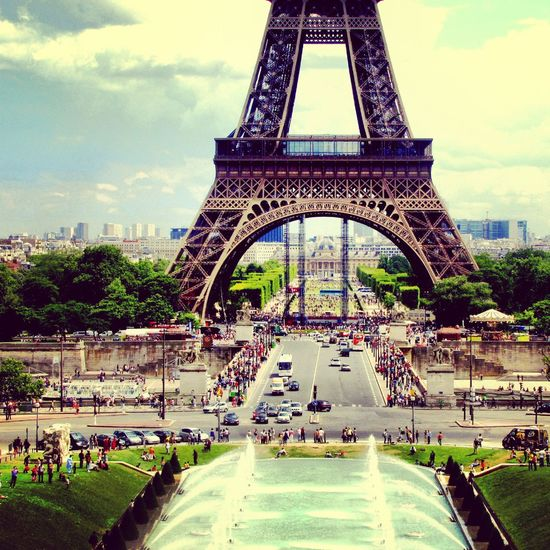 Paris La Tour Eiffel City Of Love♡