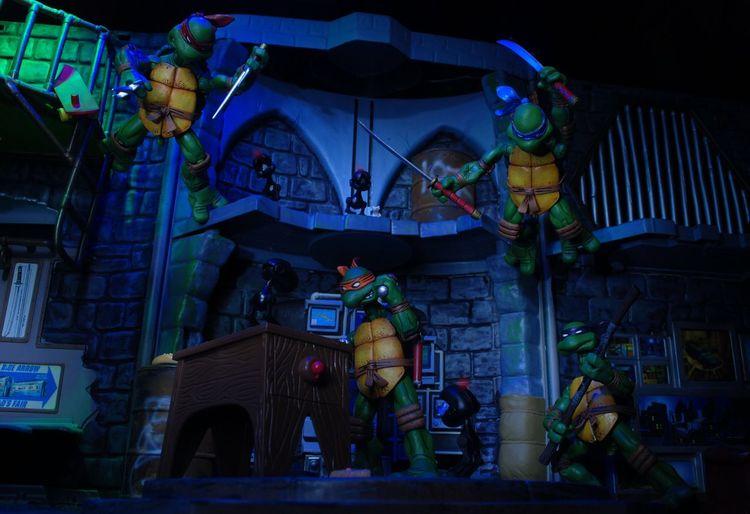 Mousers in the lair!! Ninja Turtles TMNT Teenage Mutant Ninja Turtles Toyphotographer First Eyeem Photo