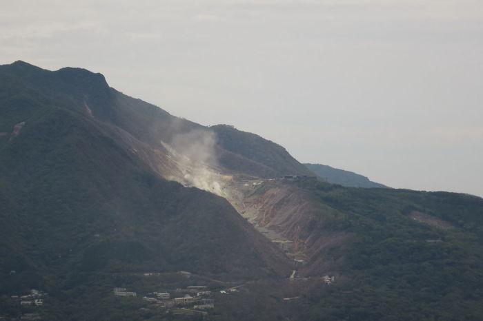 Volcano Mountain Mountain View Landscape 大涌谷