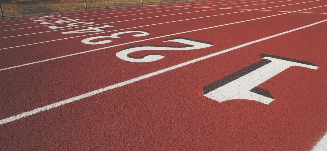 Starting Line of a jogging track Sports Track Sports Race Competition Track And Field Event Competitive Sport Sport Running Track Track And Field Stadium Track And Field Starting Line Track Starting Block Jogging Sports Venue