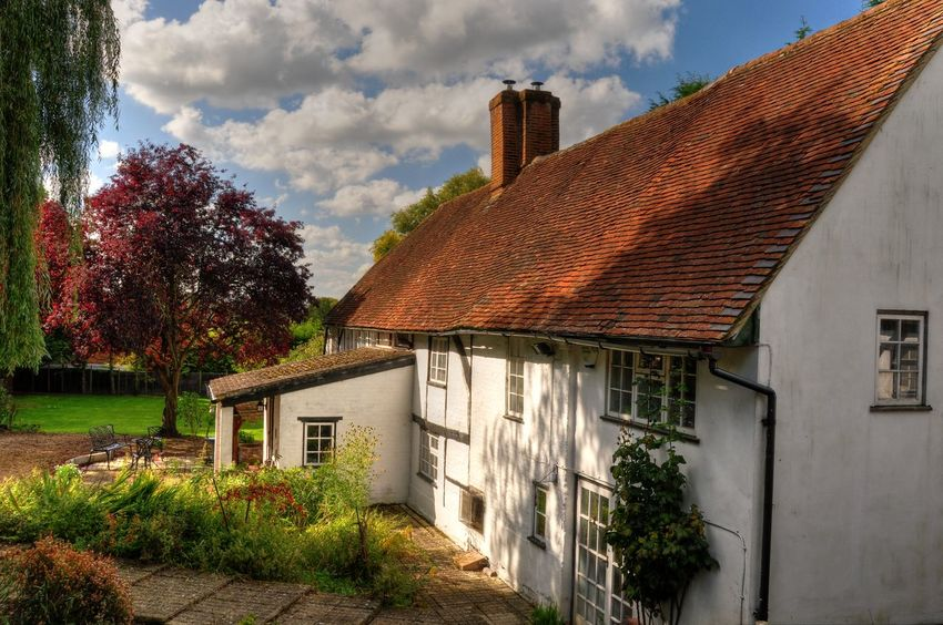 Cottage Country Life Country Living Home Home Sweet Home Tiled Roof  White House The Architect - 2016 EyeEm Awards Britain British British Cottage British House English Cottage English House White Cottage