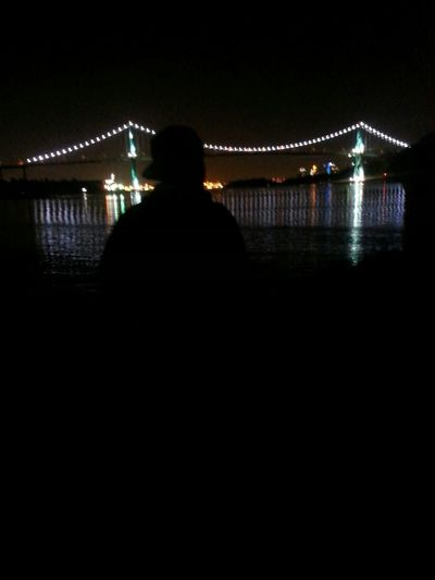 Lions Gate Hanging Out Biking Midnight