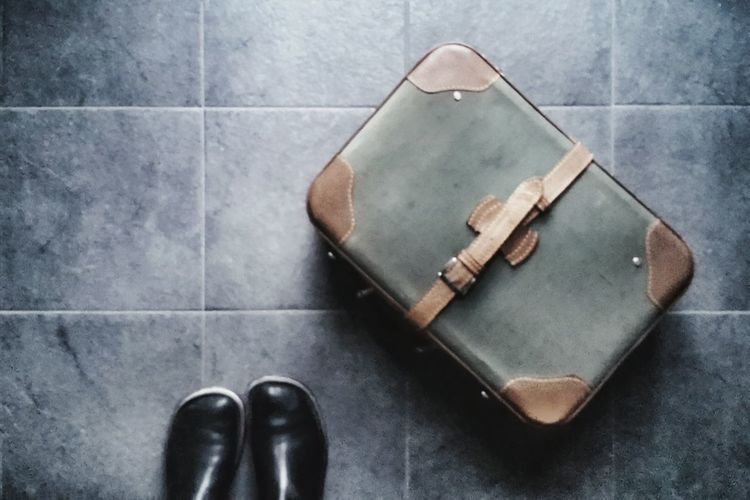 Supercalifragilistichespiralidoso... my old suitcase has a magic world inside   Photographic Memory Mary Poppins Old Suitcase My Boots From My Point Of View The Street Photographer - 2016 EyeEm Awards Showcase: January Pavement Getting Inspired EyeEm Italy  