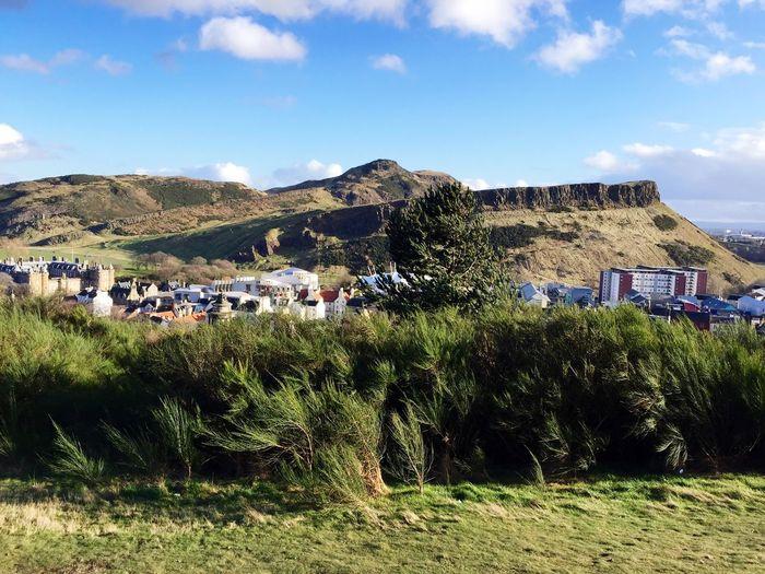 Edinburgh Calton Hill View of Holyrood