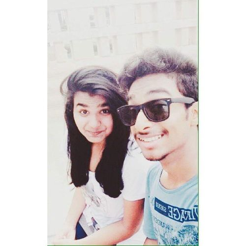 Happy Streets!✌ Bestie  Sakshi Irritator HerPhotoFace 😂 Dont kill me after this upload😜