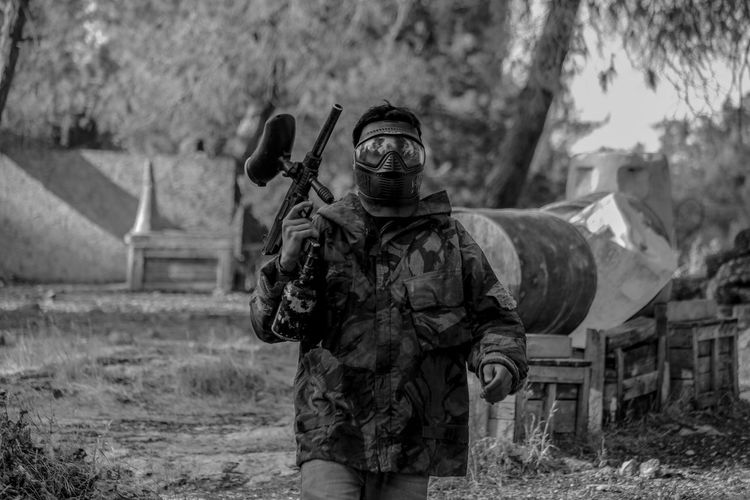 Army Soldier Black And White Blackandwhite Blackandwhite Photography Canon Childhood Day Face Guard - Sport Fun Game Israel Israeli Military Military Uniform NotWar Outdoors Paintball Paintball Photography People Picoftheday Sport Teamwork Tree War Weapon Resist Resist