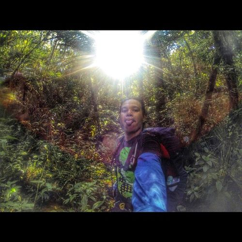 Into the wilderness' peg. AIDSventure AsankaAids Travel Backpacker Backapacking Itravel BackapackingMtKalawitan Phmountains Goproph  Goprotravel Goprophilippines GoProHero3BE Wilderness Outdoor Outdoortrip Solobackpacker Backpackerstyle Backpackermode