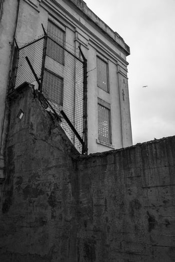 Alcatraz Alcatraz Island Black & White Black And White Blackandwhite Escape Island Noescape Prison San Francisco Window