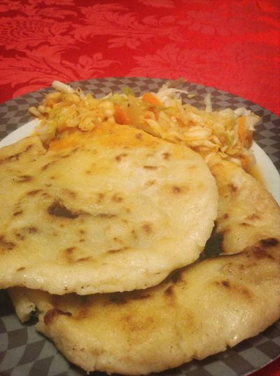OH MY GOD!!!!! So Boooomb Baby 😋👌 Pupusas Salvadorian Food Hispanic Food So Deliciuos My Dinner 😋 Eating Like SALVADORIAN BABY💙💙💙💙5⃣0⃣3⃣💯% Soooo Gooood😋😁😄