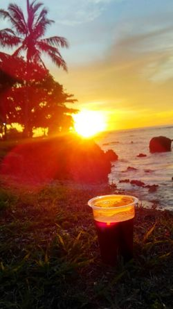 Instant Sunset Coffe Sunset InstantCoffee