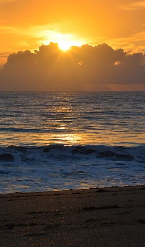 Sunrise Good Morning Beautiful People Sea Beauty In Nature Nature Wave Scenics Tranquil Scene Horizon Over Water Beach Idyllic Tranquility Yellow Water Sky Outdoors No People Sun
