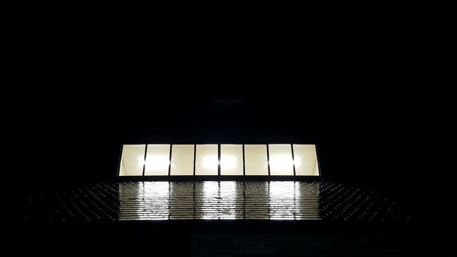 Wet Roof on a Dark Night