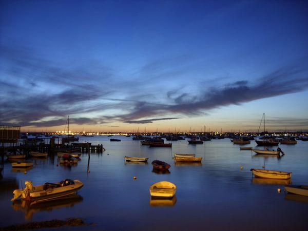 Poole, Dorset Poole Harbour Sunset