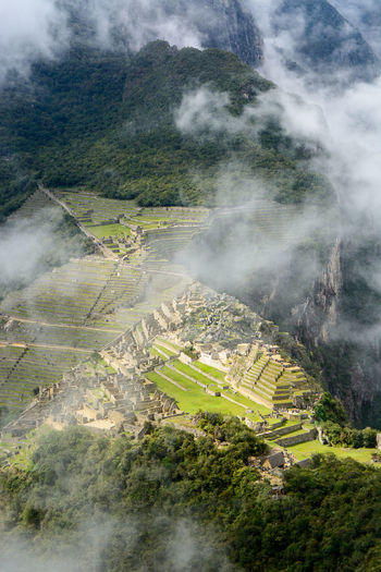 Machu Picchu Peru Travel Ancient Ancient Civilization Day Landscape Nature No People Outdoors The Traveler - 2018 EyeEm Awards