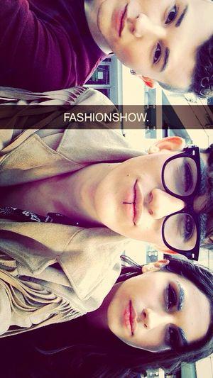 Fashionshow. Gay Model Fashionshow Friends