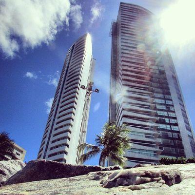Uma floresta de concreto e aço! Eutonanuvem Igersrecife Igersportugal P3top amazing niceshots beach