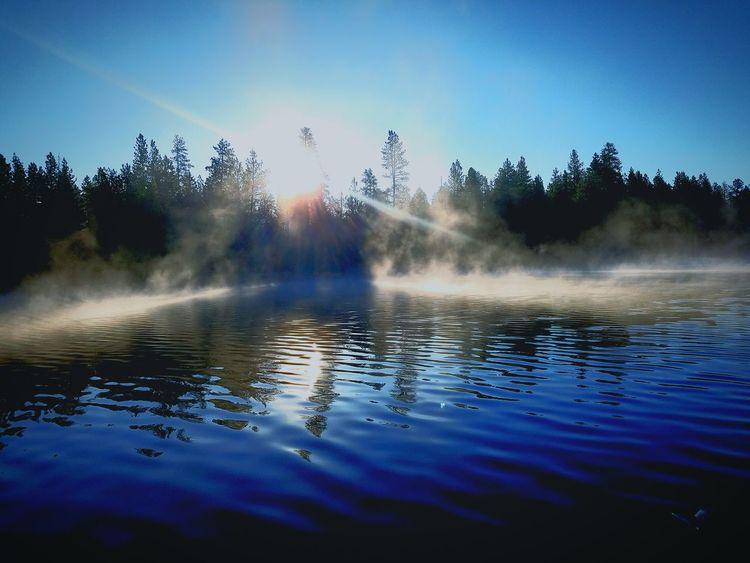 Original Experiences Central Oregon Fishing Twin Lakes Resort Sunrise