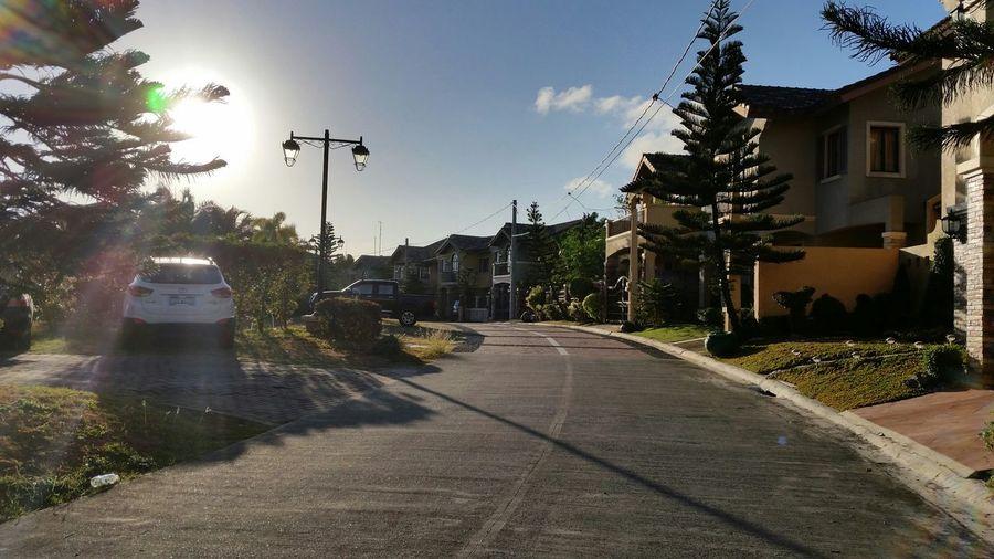 Good Morning Saturday ! Off to work. Morningwalk Sunrise Goodvibes✌️ Morningsky Lateupload Philippines